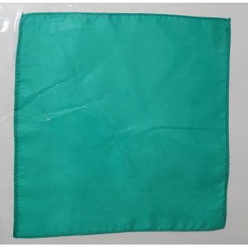 Fazzoletto di seta verde