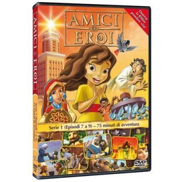 Amici ed Eroi - Serie 1 Volume 3 Episodi da 7 a 9