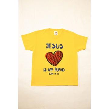 Maglia Jesus is my Friend_ bambino