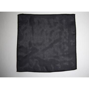 Fazzoletto di seta nero