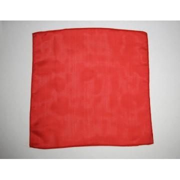 Fazzoletto di seta rosso