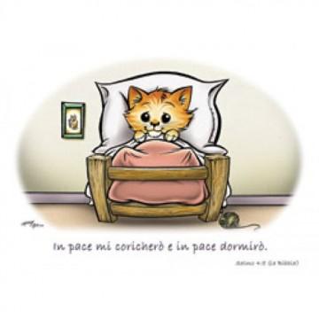 Cartolina con gattino